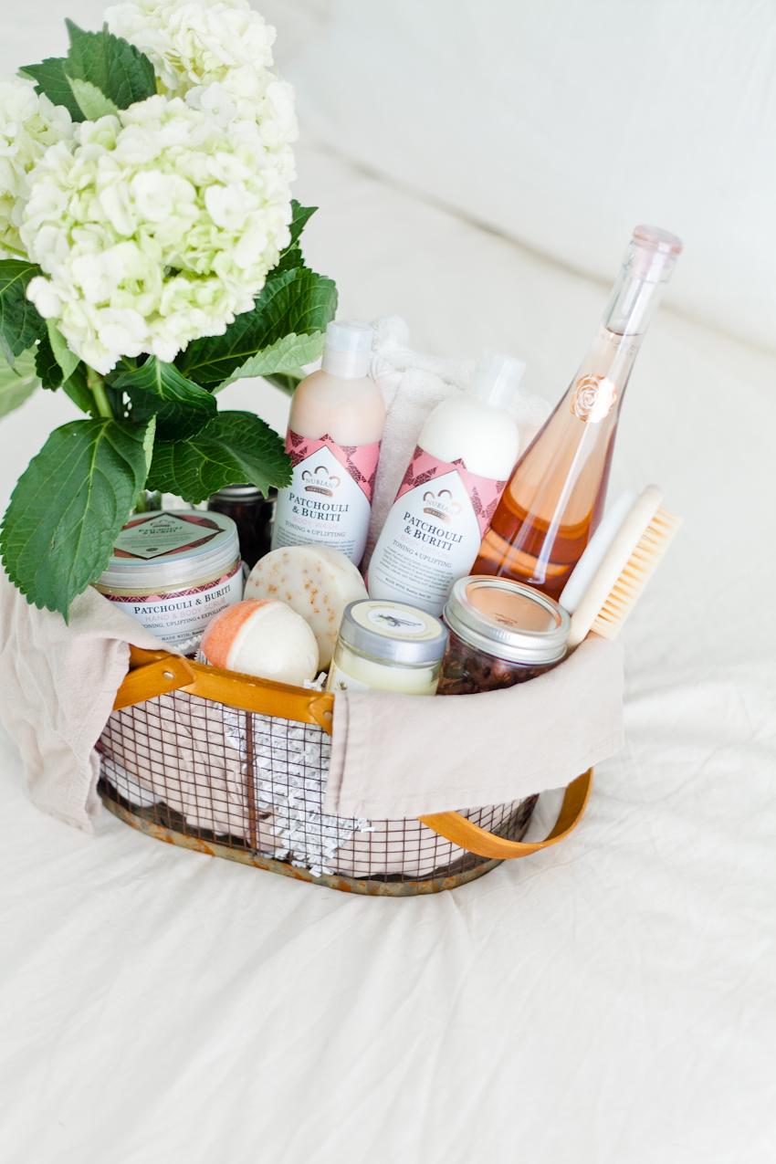 DIY Muttertagsgeschenk - SPA Verwöhnung im Geschenkkorb