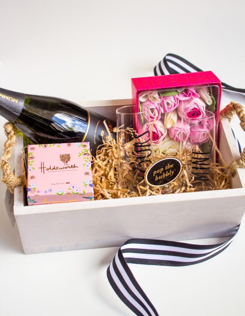 Ideen zum Muttertag - Zeit für sich schenken mit Geschenkkorb zum Muttertag