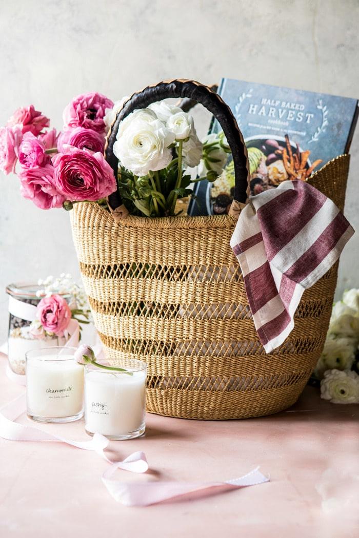 Geschenkkorb zum Muttertag selber basteln - 26 DIY Ideen zum Muttertag
