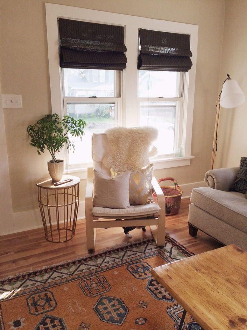 Integrieren Sie den Ikea Sessel Poäng in Ihrer Einrichtung