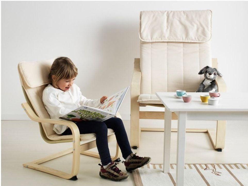 Eine andere Alternative für Ikea Sessel: Poäng Stuhl für Kinder