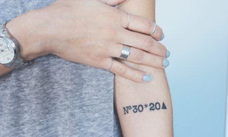 Koordinaten Tattoo - Motive und Bedeutung