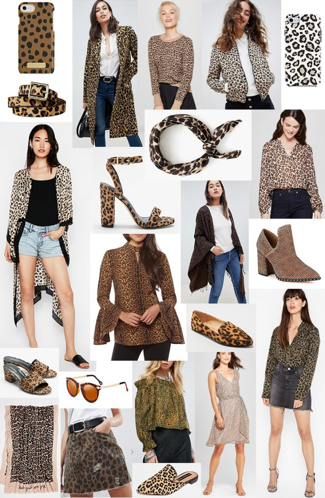 Leopardenmuster - so kombinieren Sie stylisch das Animal Print