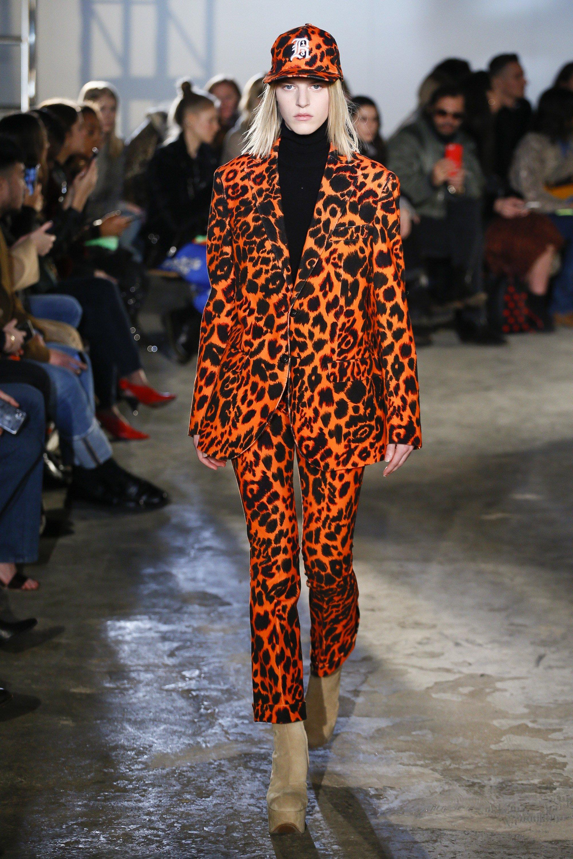 Leopardenmuster in knallende Farben