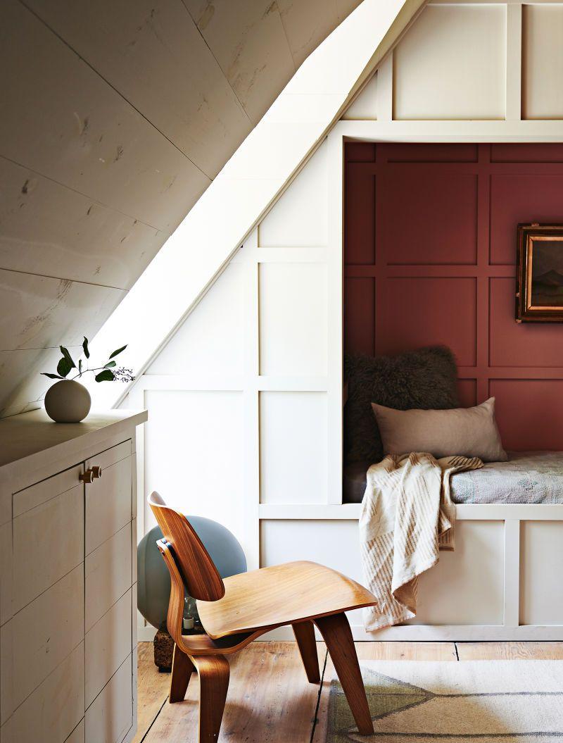 Wohnung Dachgeschoss praktisch enrichten Sitzecke