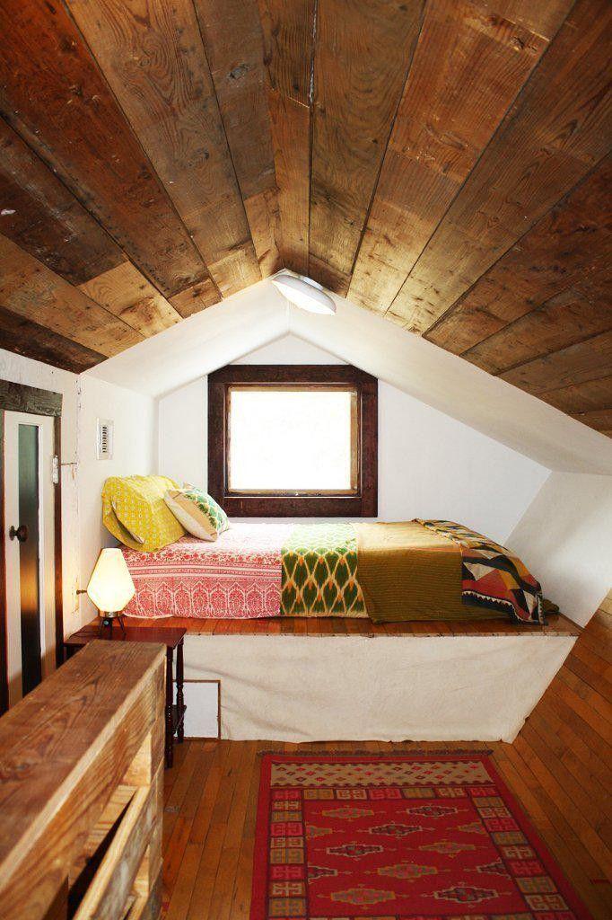 ungewöhnliche Winkel Dachschräge