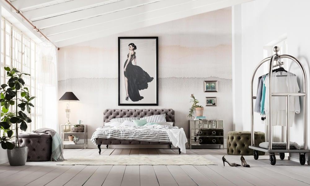 Mansarde im Vintage Stil einrichten