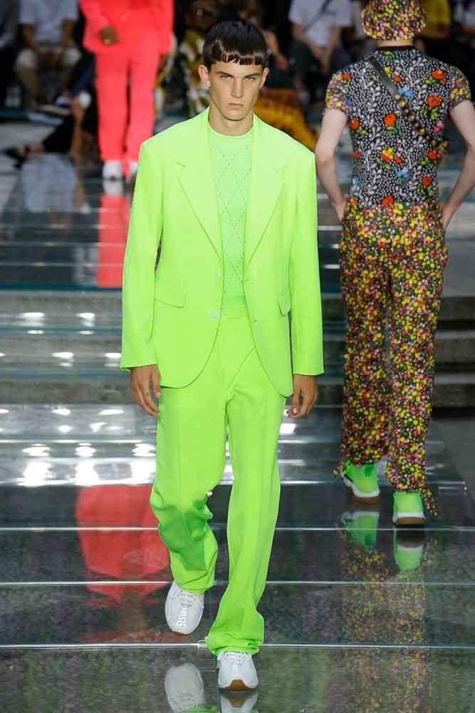 Neonfarben richtig tragen Herren