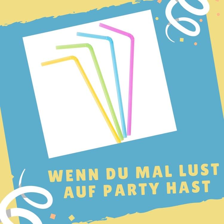 Wenn Buch Lust auf Party