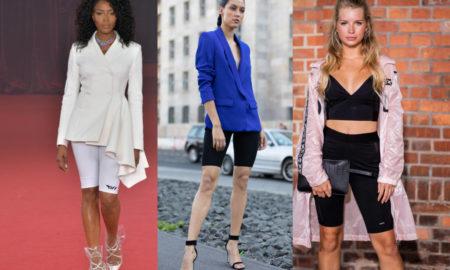 Radlerhosen Damen moderne Outfits 2019