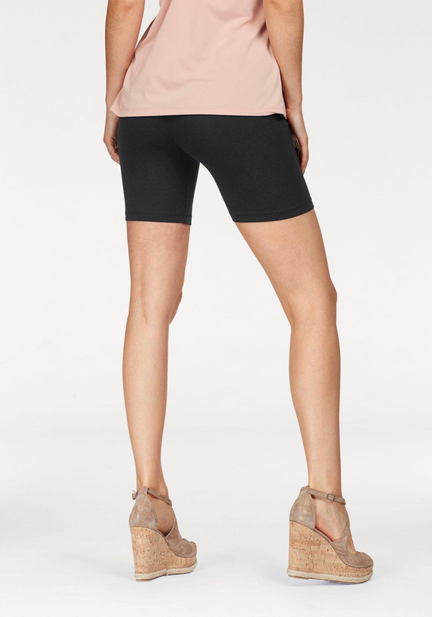 sportliche Hose kurz elastisch