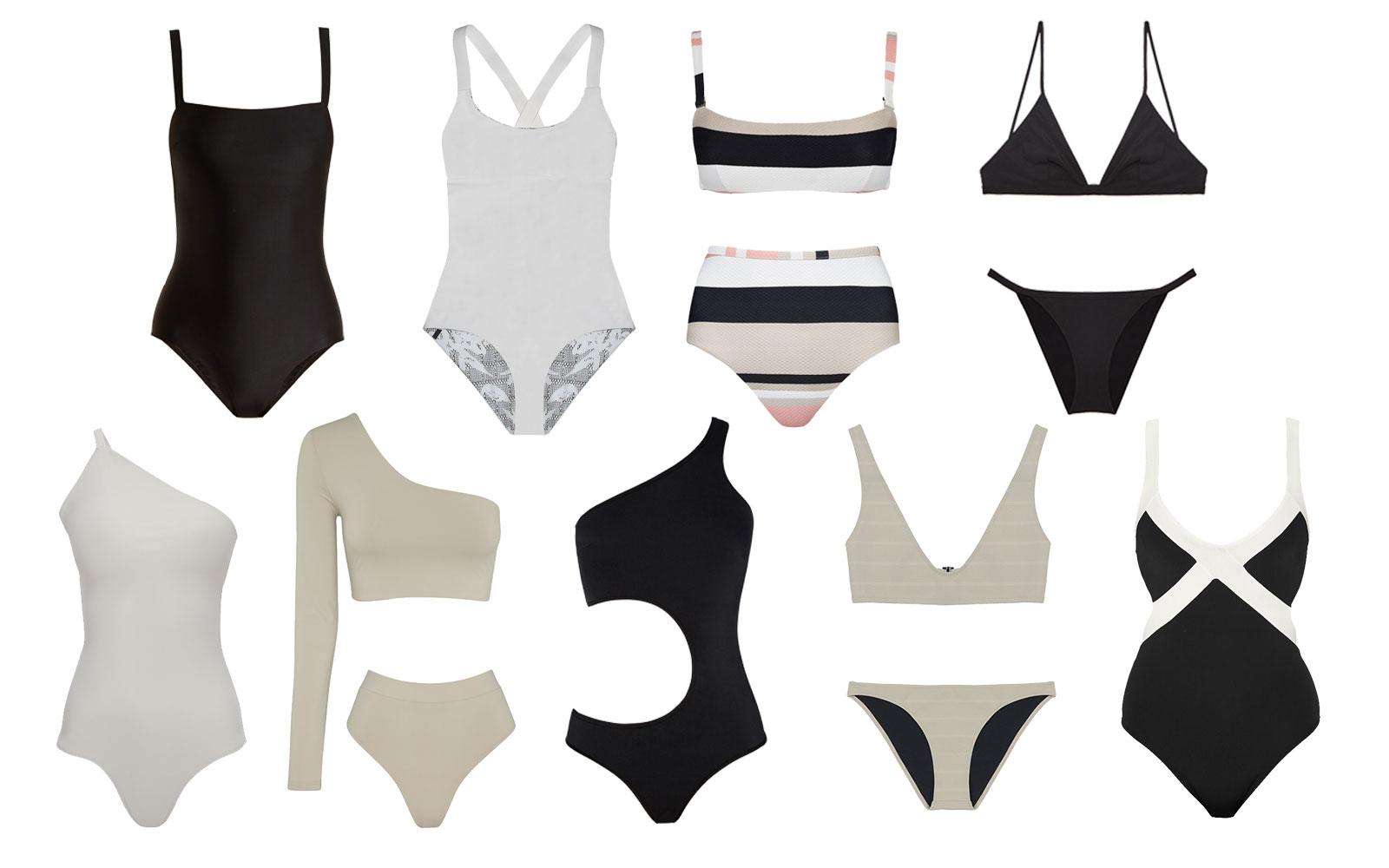 Vintage Kleidung auch am Strand - Retro Badeanzug ist der neue Modetrend