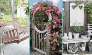 Shabby Garten gestalten