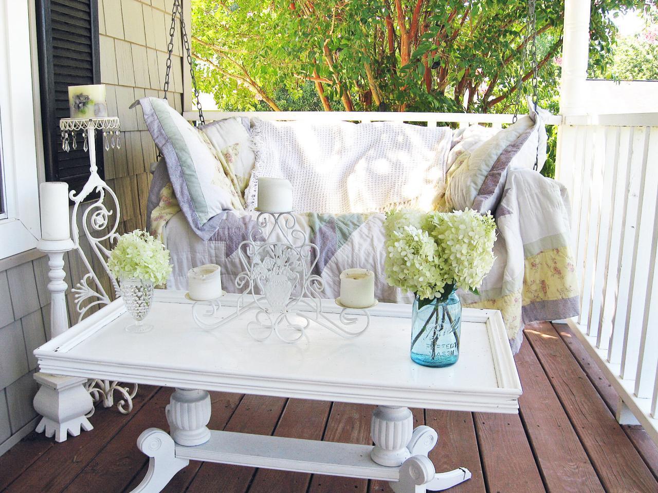 Shabby Garten oder Terrasse gestalten