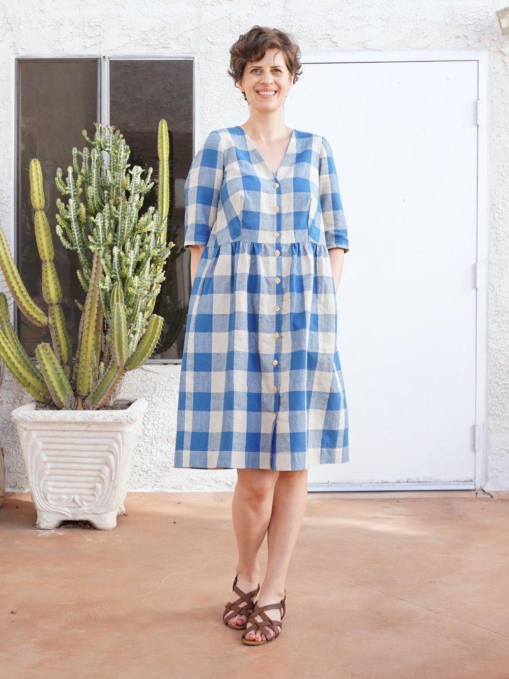 Herrenhemden tolles Oversize Kleid basteln