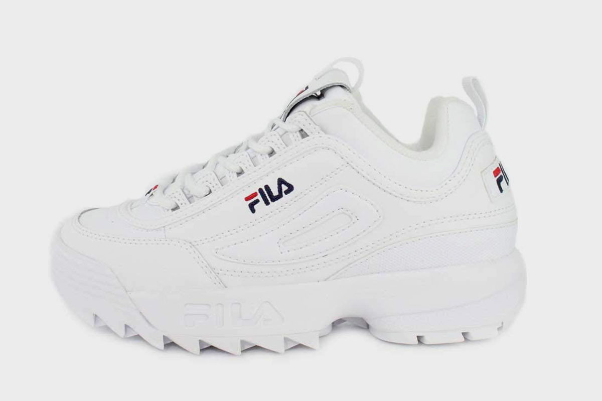 Ugly Sneaker von den 80ern Jahren