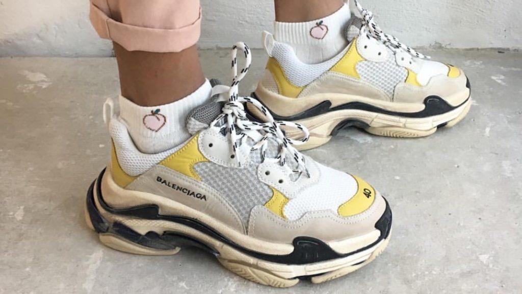Ugly Sneaker stehen gut in unterschiedlichen Outfits