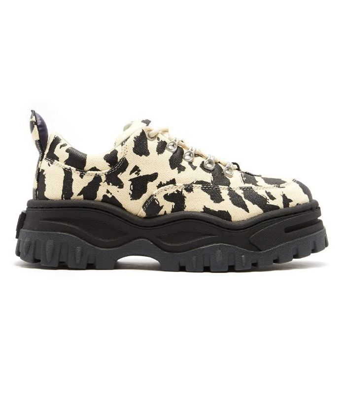Ugly Sneaker: Leoparden Print