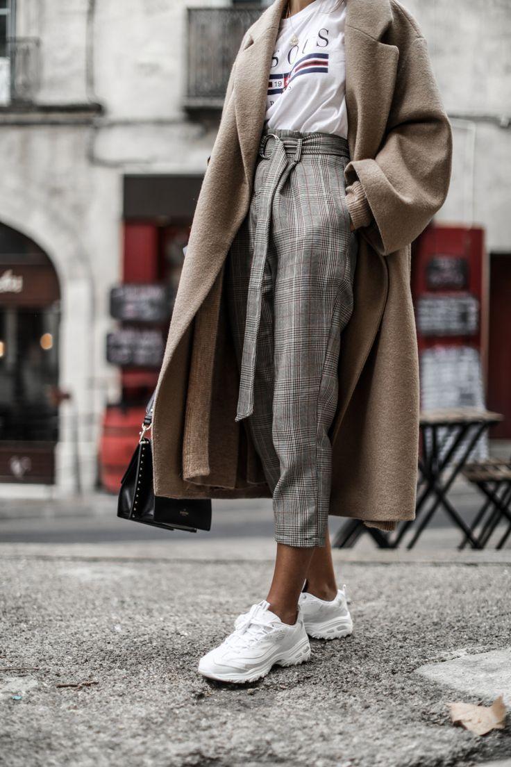 Ugly Sneaker für ein elegantes Outfit
