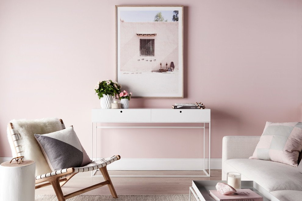 Altrosa Wandfarbe Wohnzimmer Ideen