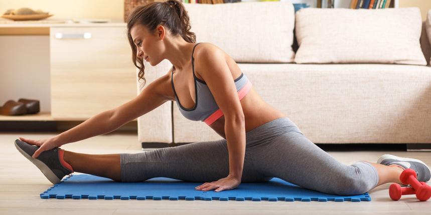 Workout für Zuhause: für Anfänger