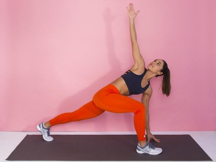 Workout für Zuhause: Bauch, Beine, Po