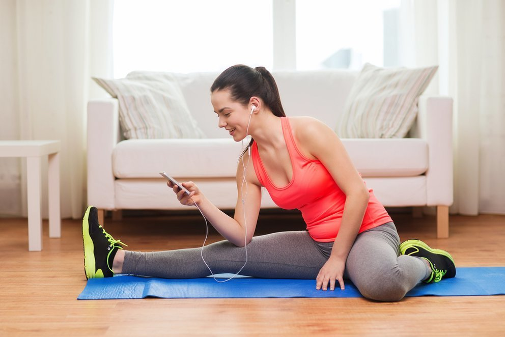 Workout für Zuhause: Übungen für Ihre Problemzonen