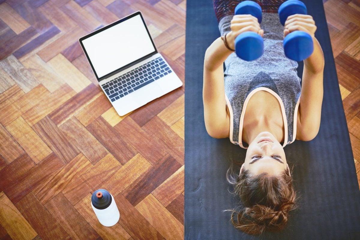 Workout für Zuhause nur in 20 Minuten
