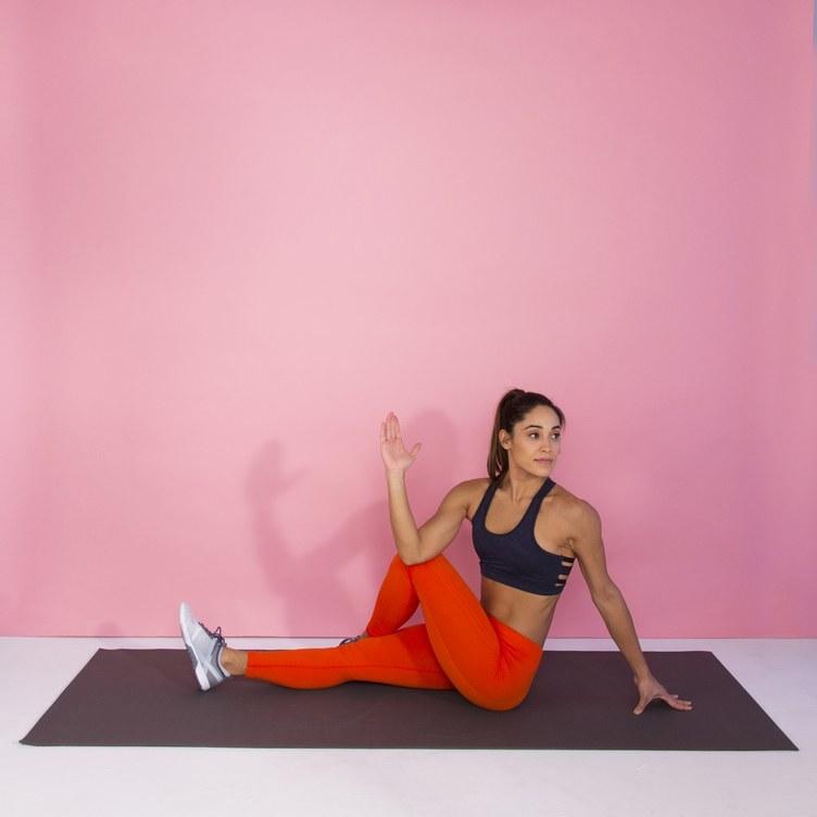 Workout für Zuhause für flaten Bauch