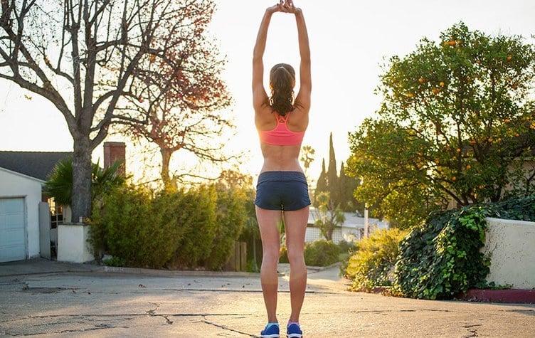 Workout für Zuhause oder im Garten