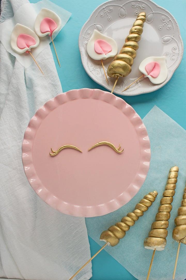 Ausgefallene Kuchen für Kindergeburtstag - Einhorn Torte Rezept Anleitung