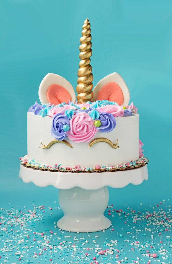 Ausgefallene Kuchen für Kindergeburtstag - Einhorn Torte selber machen