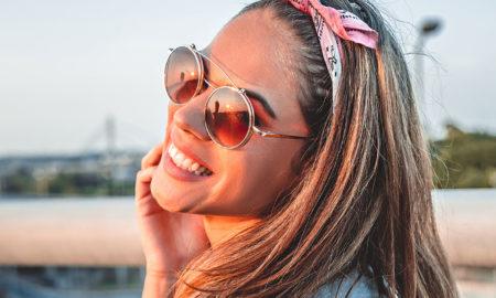 Bandana binden tolle Ideen für Damenfrisuren