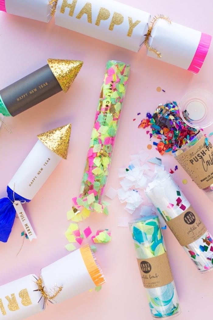 Hochzeitsgeschenke selbstgemacht Confetti