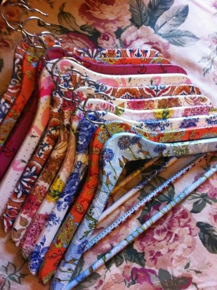 Serviettentechnik Kleiderhacken dekorieren