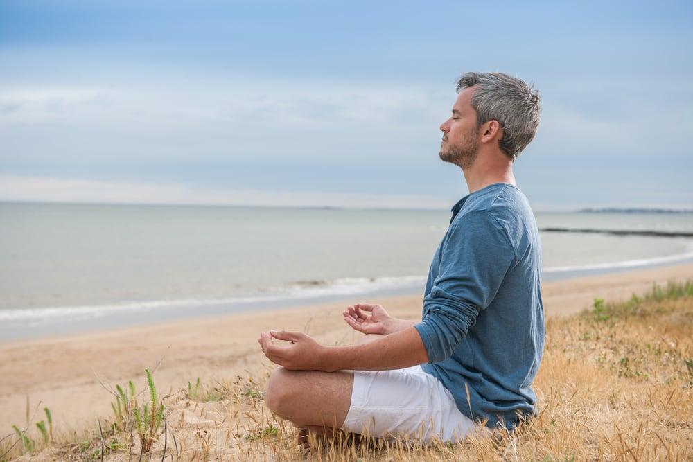 weißes Rauschen meditieren