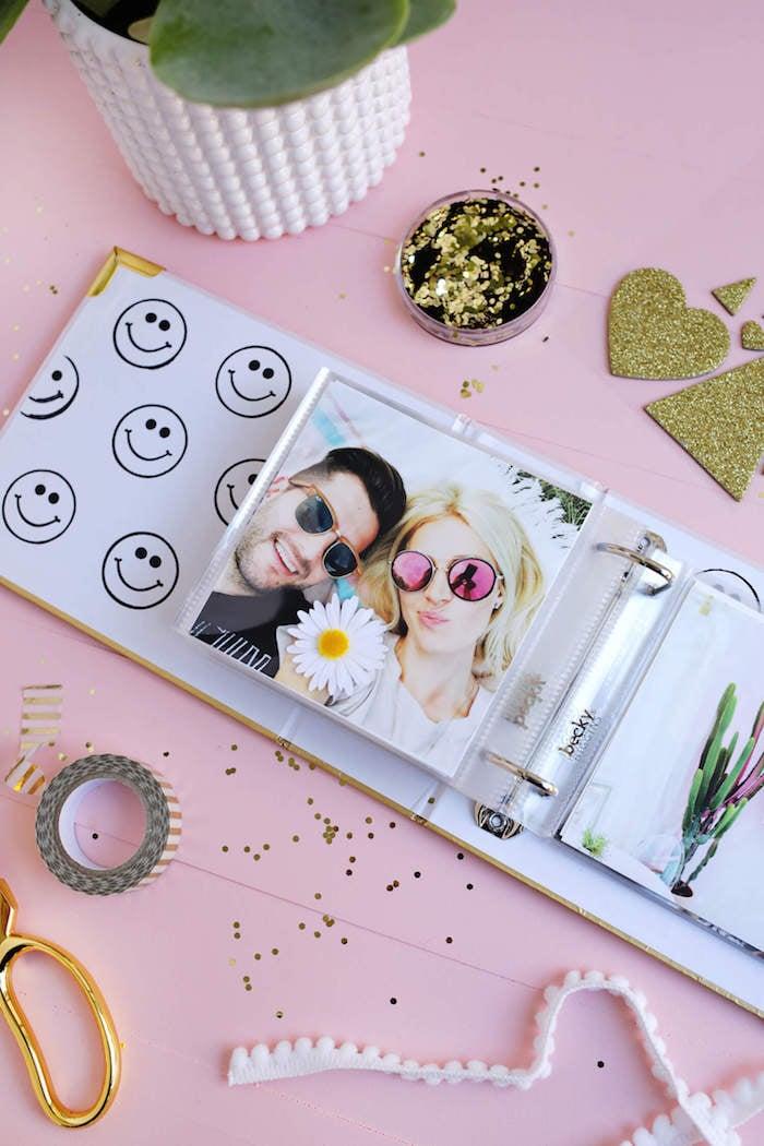 DIY Geschenke Fotoalbum Hochzeit persönlich