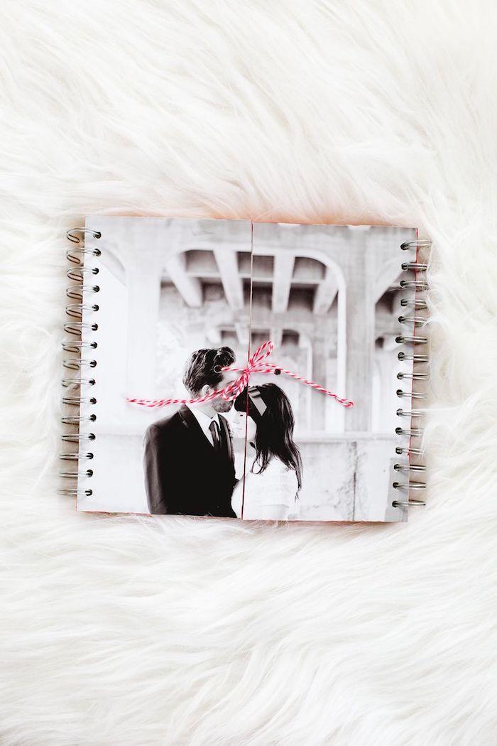 DIY Fotoalbum Hochzeit