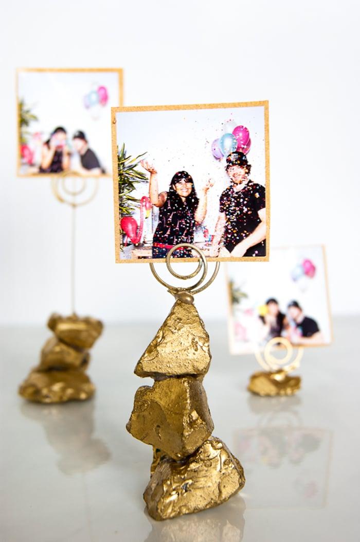 Hochzeitsgeschenke selbstgemacht Fotohalter