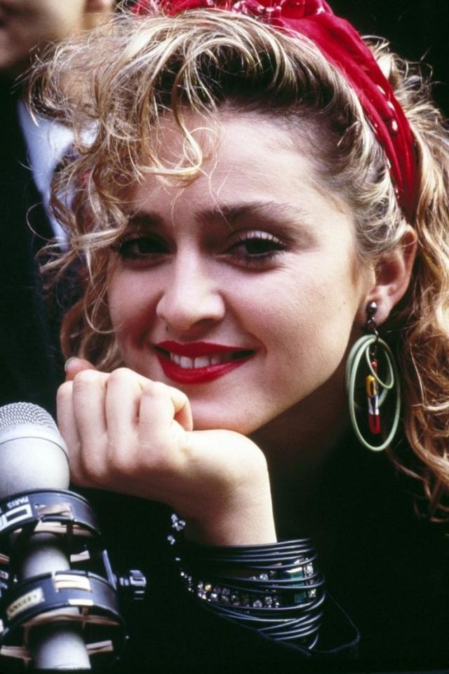 Kopftuch tragen Madonna