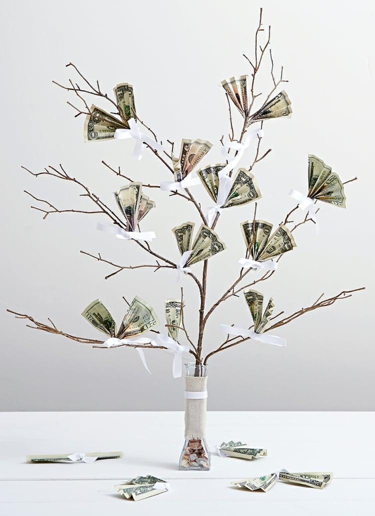 Geldbaum selber machen Hochzeit