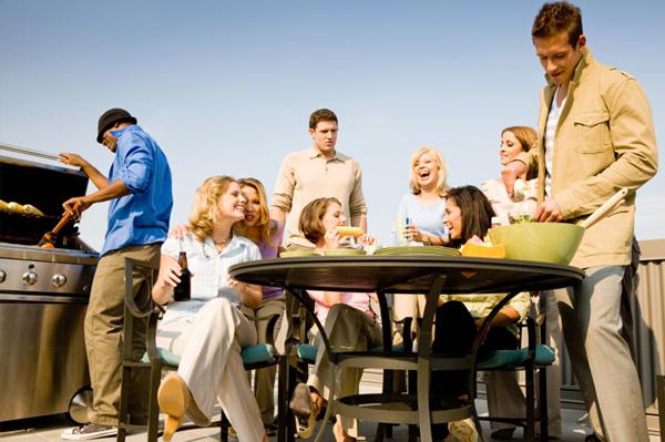 Party im Freien planen Tipps