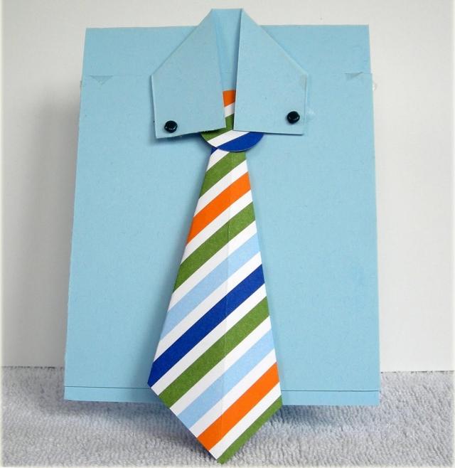 Grußkarte Krawatte tolle Idee zum Vatertag