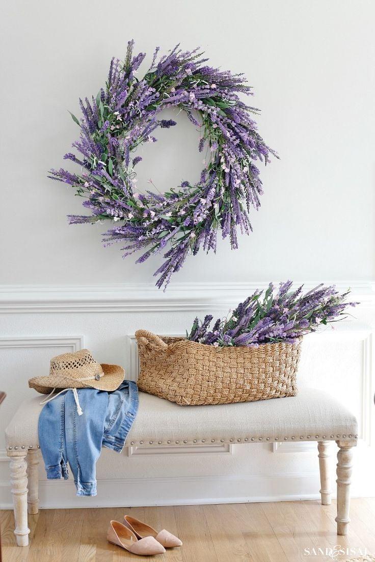 Lavendel trocknen - DIY Einrichtungsideen für Zuhause