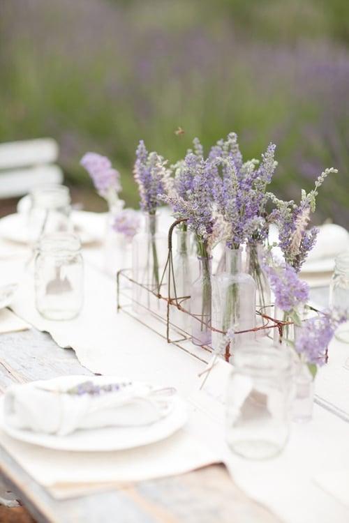 Lavendel trocknen und Hochzeitsdeko selber machen