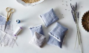 Lavendel trocknen DIY Ideen