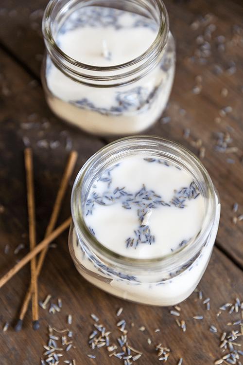 Lavendel trocknen und Badesalz selber machen