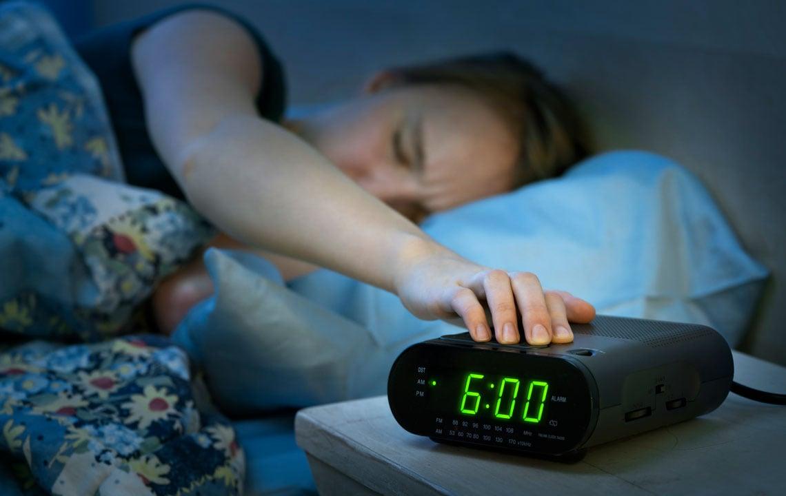 Tipps erholsamer Schlaf leichtes Aufstehen