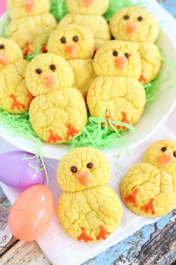 Osterrezepte backen mit Osterplätzchen