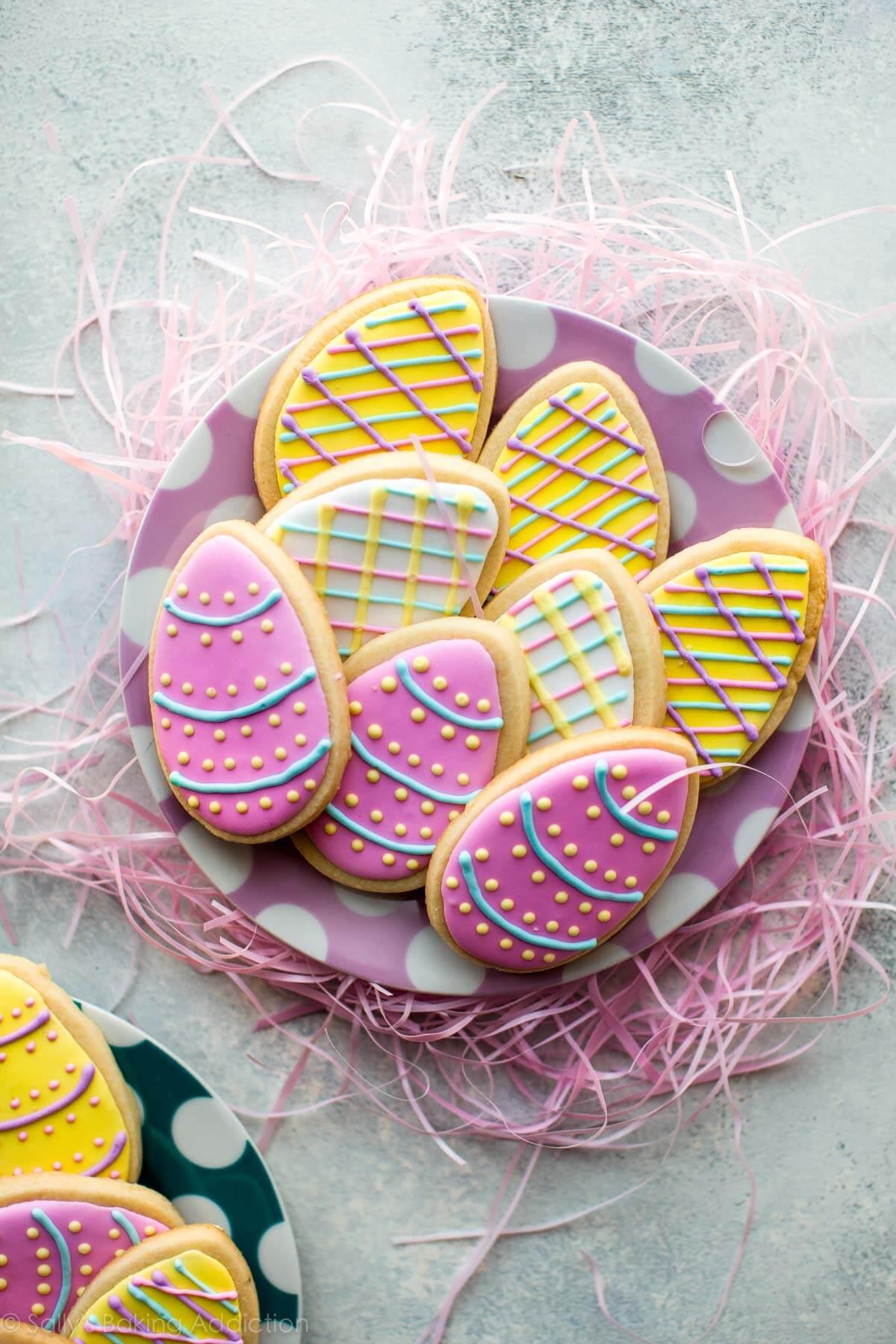 Osterplätzchen Fondant Eier selber machen